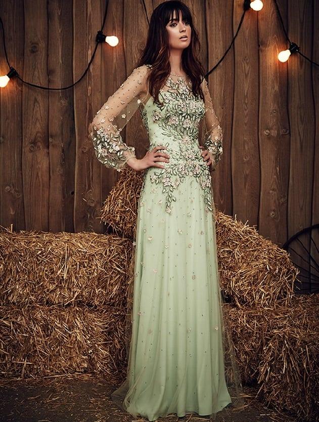 Jenny Packham Long Sleeve Wedding Gown