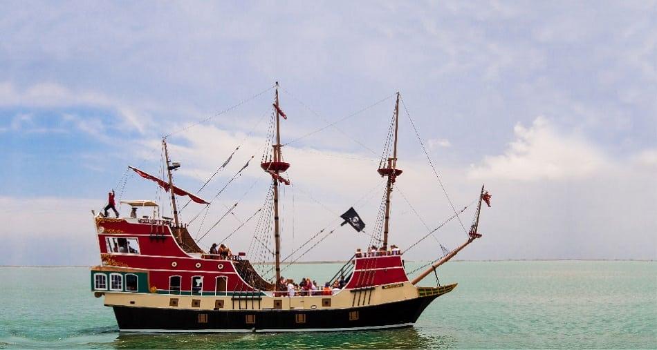 red dragon ship