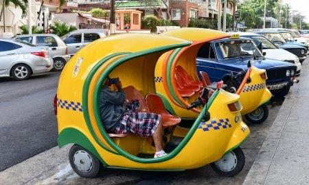 Mini Taxi in Cuba