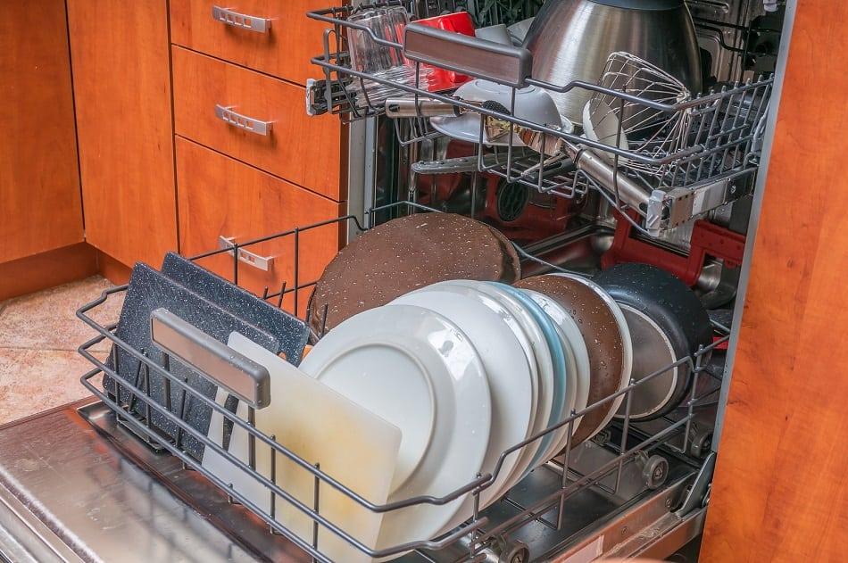 dishwasher odors