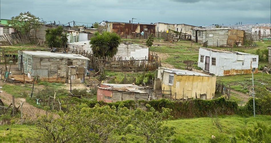 South African Slum