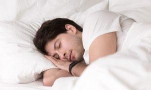 the thinker sleep position