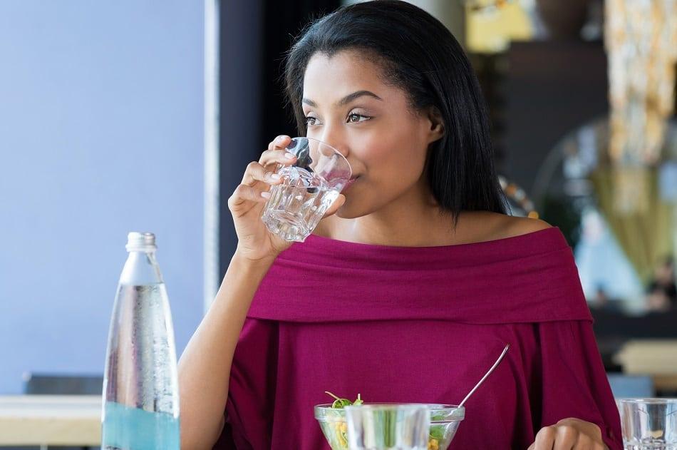 drink water before bedtime