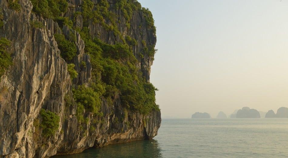 Ha Long Bay Waters Vietnam