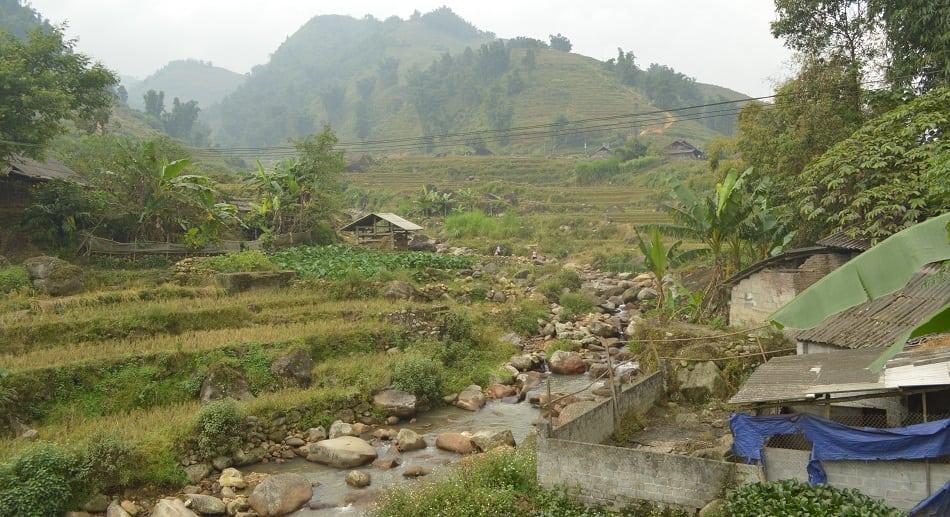 Sa Pa Village in Vietnam