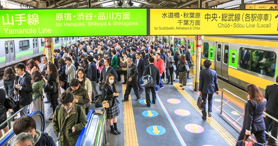 Stay in Line in Japan