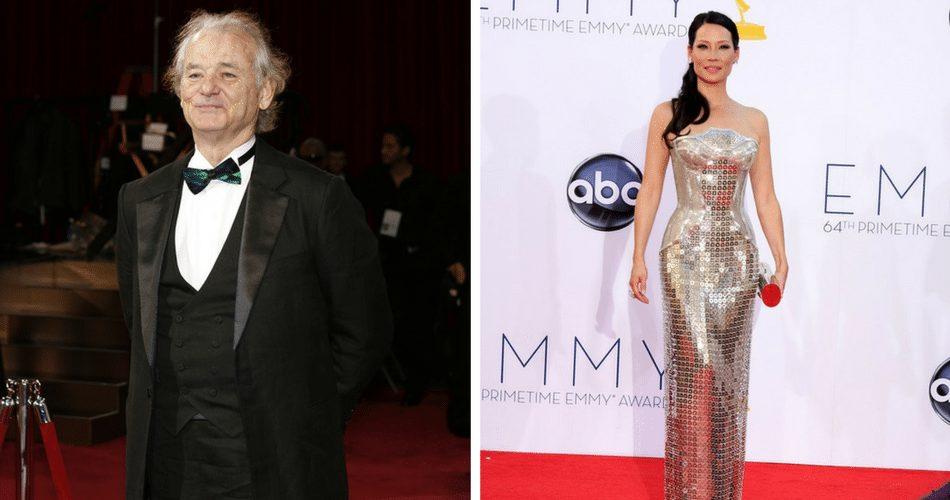 Bill Murray & Lucy Liu