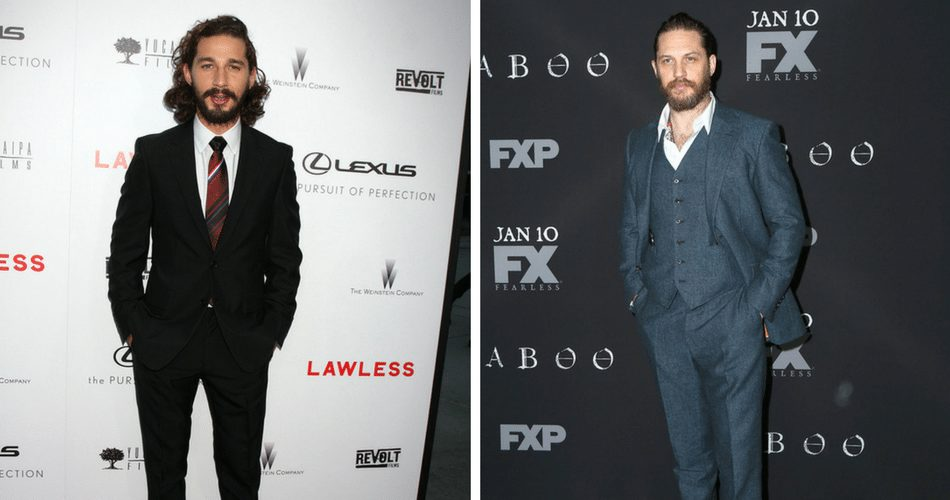 Tom Hardy and Shia LaBeouf