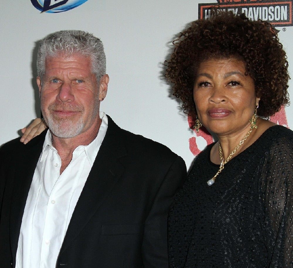 Ron Perlman and Opal