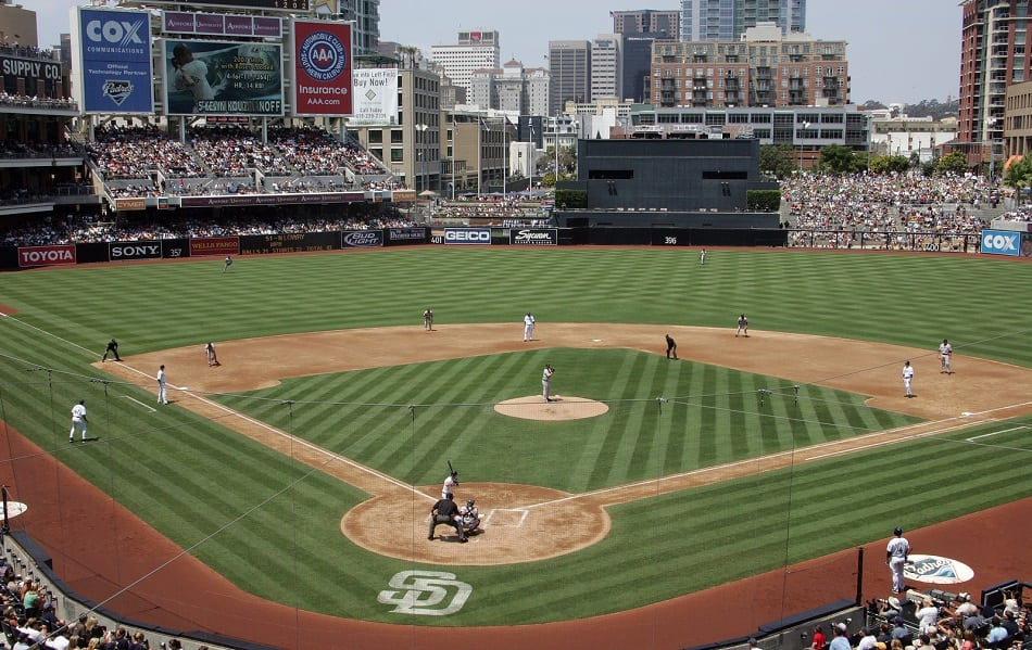 Petco Park Ball Field