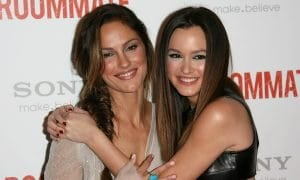 Minka Kelly and Leighton Meester